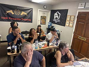 August Concealed Carry California Class
