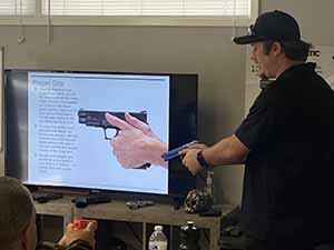 Learning proper gun grip