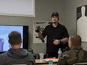 Lead Firearms Instructor Mike