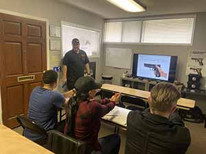 Learning about firearms