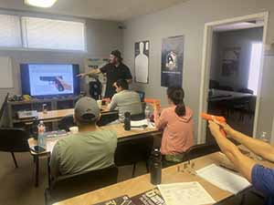 TMR Firearms gun safety course