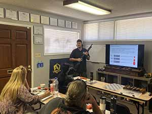 Firearms Safety Class
