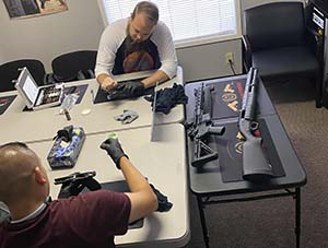 Joshs Gun Cleaning Class